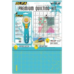 Olfa Quilt Kit Aqua